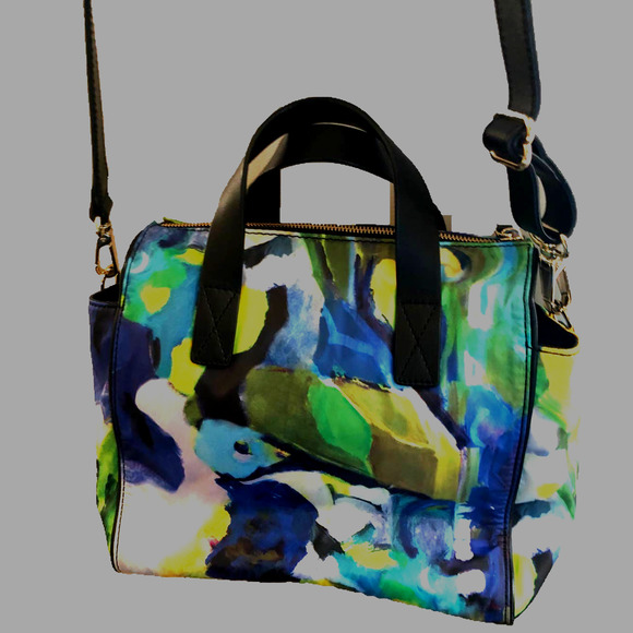 KATE SPADE Multicolor Flora Canvas Crossbody Bag